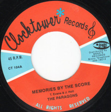 """The Paragons - My Number One / Memories By The Score - 7"""" Vinyl"""
