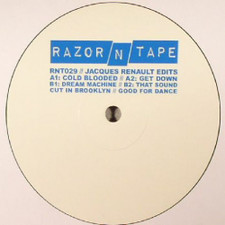 """Jacques Renault - Edits - 12"""" Vinyl"""