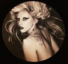 Lady Gaga - Born Like Me 1 - Single Slipmat