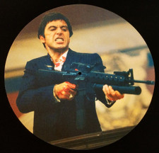 Scarface - Say Hello To My Little Friend - Single Slipmat
