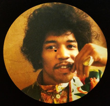 Jimi Hendrix -   - Single Slipmat