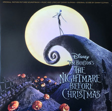 Danny Elfman - Tim Burton's The Nightmare Before Christmas (Original Motion Picture Soundtrack) - 2x LP Vinyl