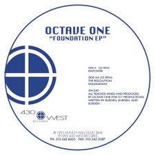 "Octave One - Foundation Ep - 12"" Vinyl"