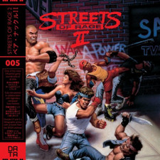 Yuzo Koshiro - Streets Of Rage 2 (Original Video Game Soundtrack) - 2x LP Vinyl