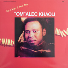"Om Alec Khaoli - Say You Love Me - 12"" Vinyl"