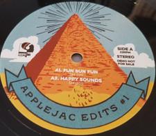 """Applejac - Applejac Edits #1 - 12"""" Vinyl"""