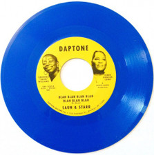 """Saun & Starr - Look Closer / Blah Blah Blah - 7"""" Colored Vinyl"""