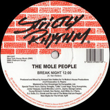 "The Mole People - Break Night / Ocean - 12"" Vinyl"