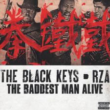 "The Black Keys & RZA - Baddest Man Alive - 7"" Vinyl"
