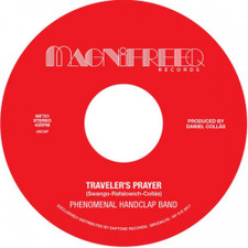 "Phenomenal Handclap Band - Traveler's Prayer / Stepped Into The Light - 7"" Vinyl"