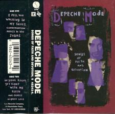 Depeche Mode - Songs Of Faith & Devotion - Cassette