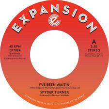 """Spyder Turner - I've Been Waitin' - 7"""" Vinyl"""