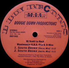 "Boogie Down Productions - South Bronx / The P Is Free - 12"" Vinyl"