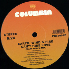 "Earth, Wind & Fire - Fantasy / Can't Hide Love - 12"" Vinyl"