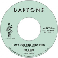 "Bob & Gene feat. The Inversions - I Can't Stand These Lonely Nights - 7"" Vinyl"