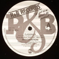 "Imagination - Flashback / Burnin' Up - 12"" Vinyl"