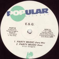 "E.S.G. - Party Music / Moody (A New Mood) - 12"" Vinyl"