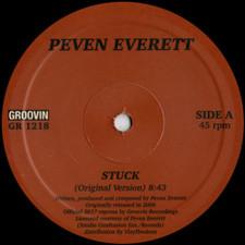 """Peven Everett - Stuck - 12"""" Vinyl"""