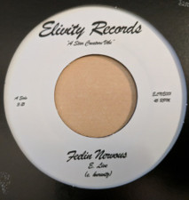 "E. Live - Feelin Nervous - 7"" Vinyl"