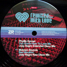 "Joey Negro - Remixed With Love Vol. 3 - 12"" Vinyl"