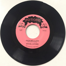 "Social Lovers - Drop Me A Line - 7"" Vinyl"