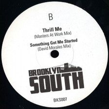 """Whitney Houston / Simply Red - Love Will Save The Day / Thrill Me - 12"""" Vinyl"""