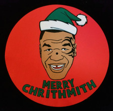 Mike Tyson - Merry Chrithmith - Single Slipmat