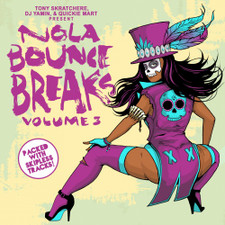 "Tony Skratchere / DJ Yamin / Quickie Mart - NOLA Bounce Breaks Vol. 3 - 7"" Vinyl"