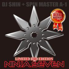 """Dj $hin + Spin Master A-1 - Ninja Seven - 7"""" Colored Vinyl"""