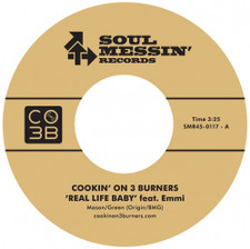 "Cookin' On 3 Burners - Real Life / Enter Sandman - 7"" Vinyl"