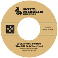 "Cookin' On 3 Burners - Real Life / Enter Sandman - 7"" Vinyl"