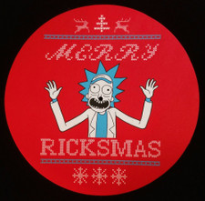 Rick & Morty - Merry Ricksmas - Single Slipmat