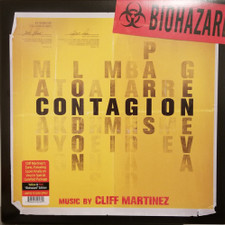 Cliff Martinez - Contagion (Original Motion Picture Soundtrack) - LP Colored Vinyl