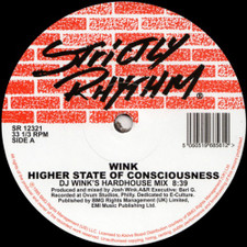"Wink - Higher State Of Consciousness - 12"" Vinyl"