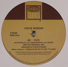 "Stevie Wonder - As / Another Star - 12"" Vinyl"