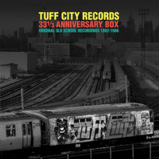 "Various Artists - Tuff City Records 33 1/3 Anniversary Box: Original Old School Recordings 1982-1986 - 5x LP Vinyl+7"" Box Set"