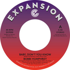 "Bobbi Humphrey - Baby Don't You Know - 7"" Vinyl"