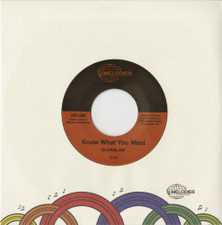 "Gloria Jay - Know What You Want - 7"" Vinyl"