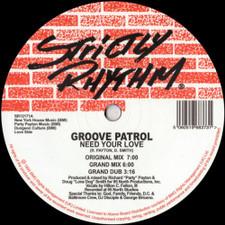 "Groove Patrol - Need Your Love - 12"" Vinyl"
