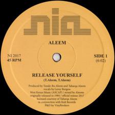 """Aleem - Release Yourself - 12"""" Vinyl"""