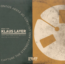 "Klaus Layer - Play Me An Old Melody - 7"" Vinyl"