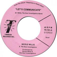 "Nicole Willis & The Soul Investigators - Let's Communicate - 7"" Vinyl"