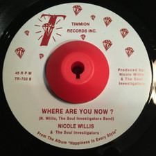 "Nicole Willis & The Soul Investigators - Paint Me In A Corner - 7"" Vinyl"