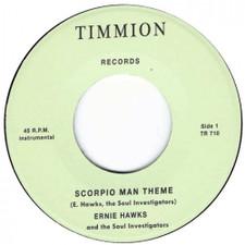 "Ernie Hawks & The Soul Investigators - Scorpio Man Theme - 7"" Vinyl"