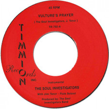 "The Soul Investigators - Vulture's Prayer - 7"" Vinyl"