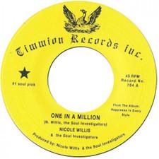 "Nicole Willis & The Soul Investigators - One In A Million - 7"" Vinyl"
