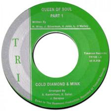 """Cold Diamond & Mink - Queen Of Soul - 7"""" Vinyl"""