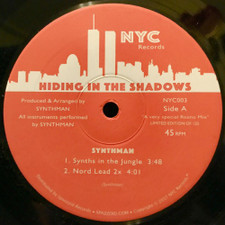 "Various Artists - Hiding In The Shadows - 12"" Vinyl"