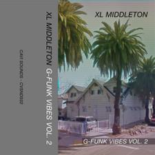 XL Middelton - G-Funk Vibes Vol. 2 - Cassette
