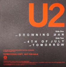 "U2 - Drowning Man / 4th of July - 12"" Vinyl"